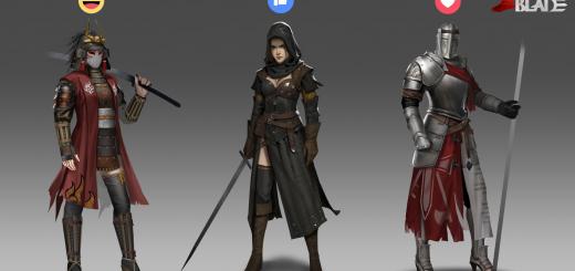 Conqueror's Blade представила концепт-арты женщин полководцев.