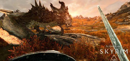 Skyrim VR выйдет на PC в апреле.